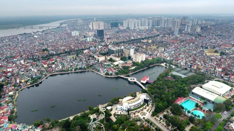 Hồ Thanh Nhàn - quận Hai Bà Trưng