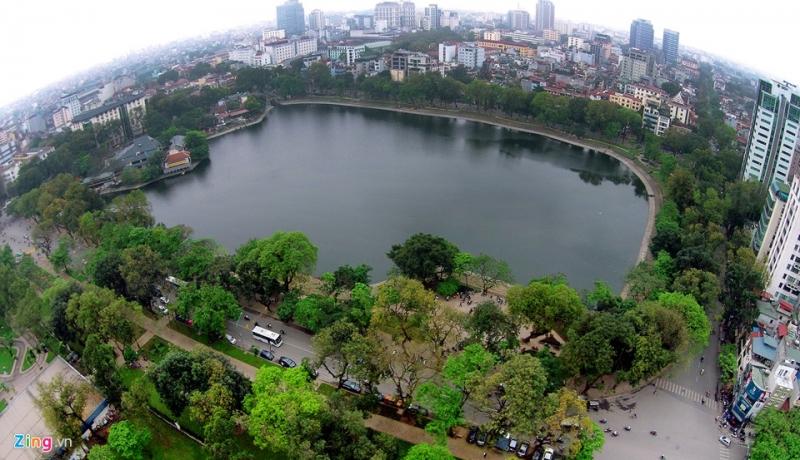 Hồ Thiền Quang - quận Hai Bà Trưng