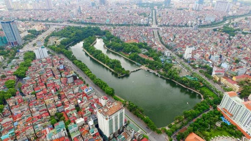 Hồ Thủ Lệ - quận Ba Đình