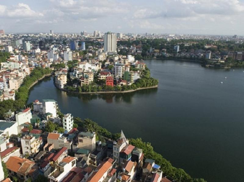 Hồ Trúc Bạch - quận Ba Đình
