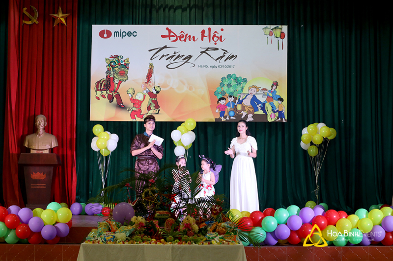 Những buổi lễ Trung thu mà Hòa Bình Group thực hiện sẽ góp phần không nhỏ trong việc xây dựng ký ức tuổi thơ tươi đẹp của các bé.