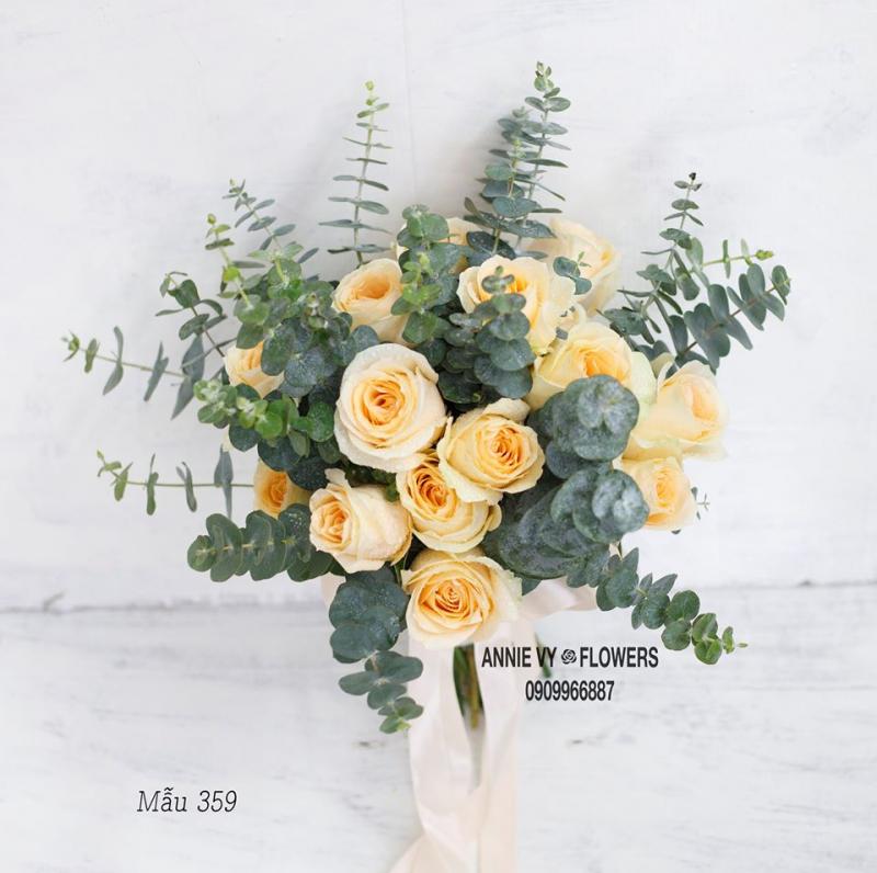 Hoa cưới đẹp Annie Vy