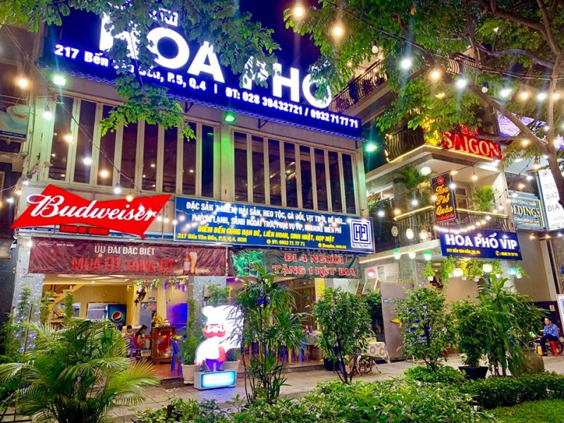 Nhà hàng Hoa Phố Quán