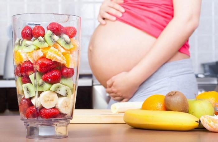 Hoa quả bổ sung dưỡng chất thiết yếu cho bà bầu
