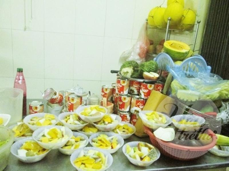 Hoa quả dầm ngõ 36 Lê Thanh Nghị