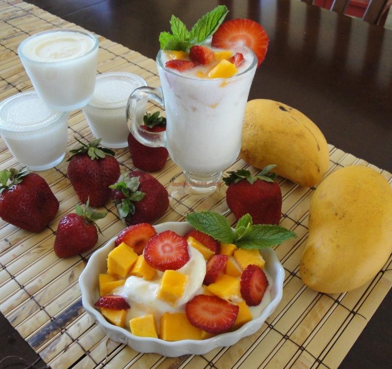 Hoa quả dầm phố Tô Tịch