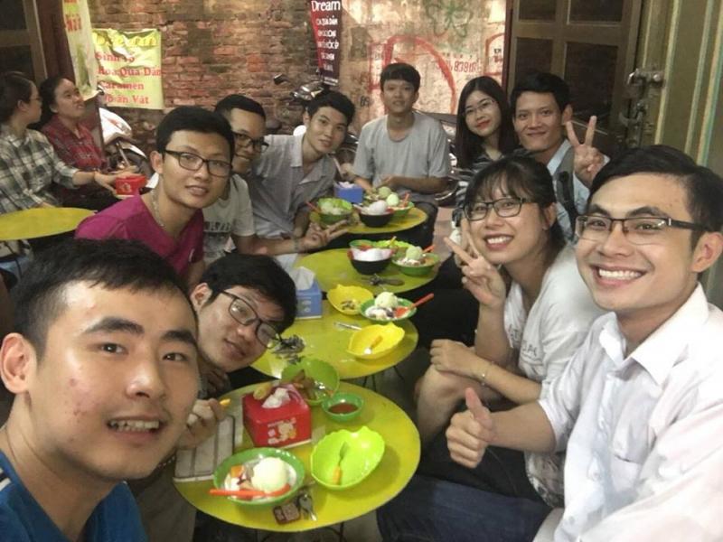 Hoa quả dầm sữa chua Ngõ 36 Lê Thanh Nghị