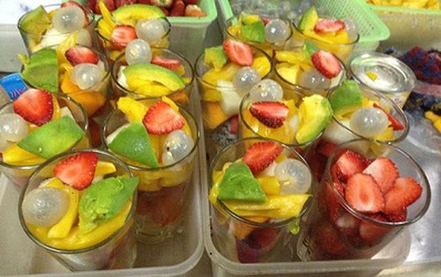 Hoa quả dầm Tô Tịch