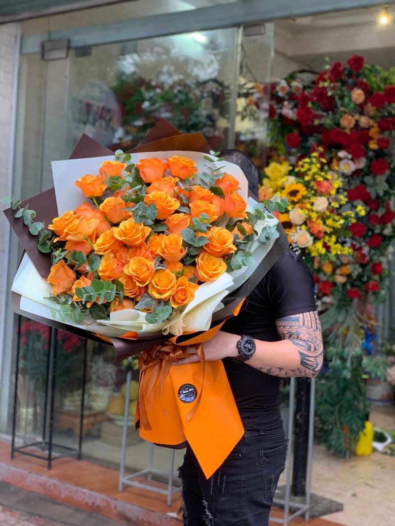 Top 5 shop hoa tươi đẹp nhất quận Long Biên, Hà Nội