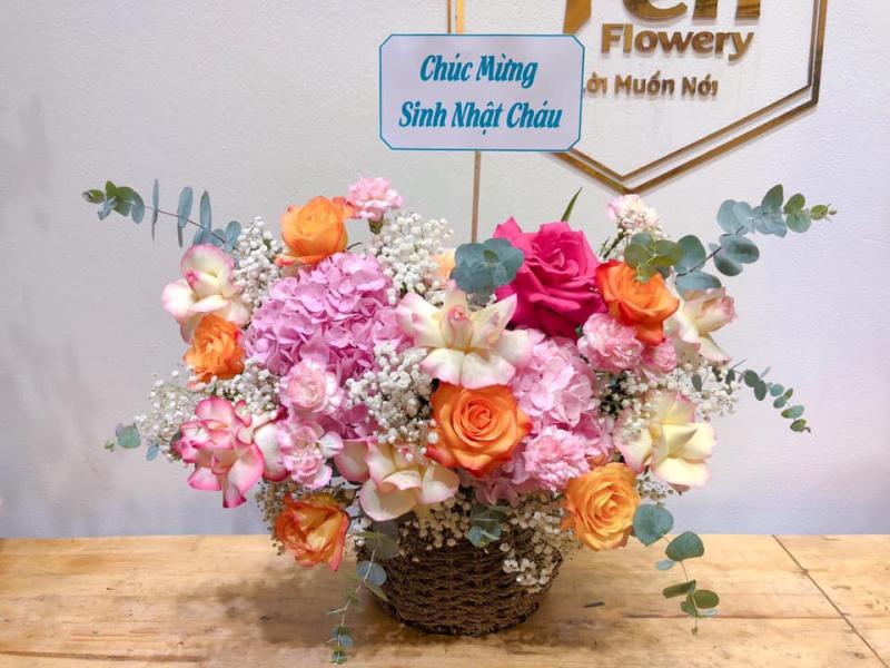 Hoa tươi Yến Flowery