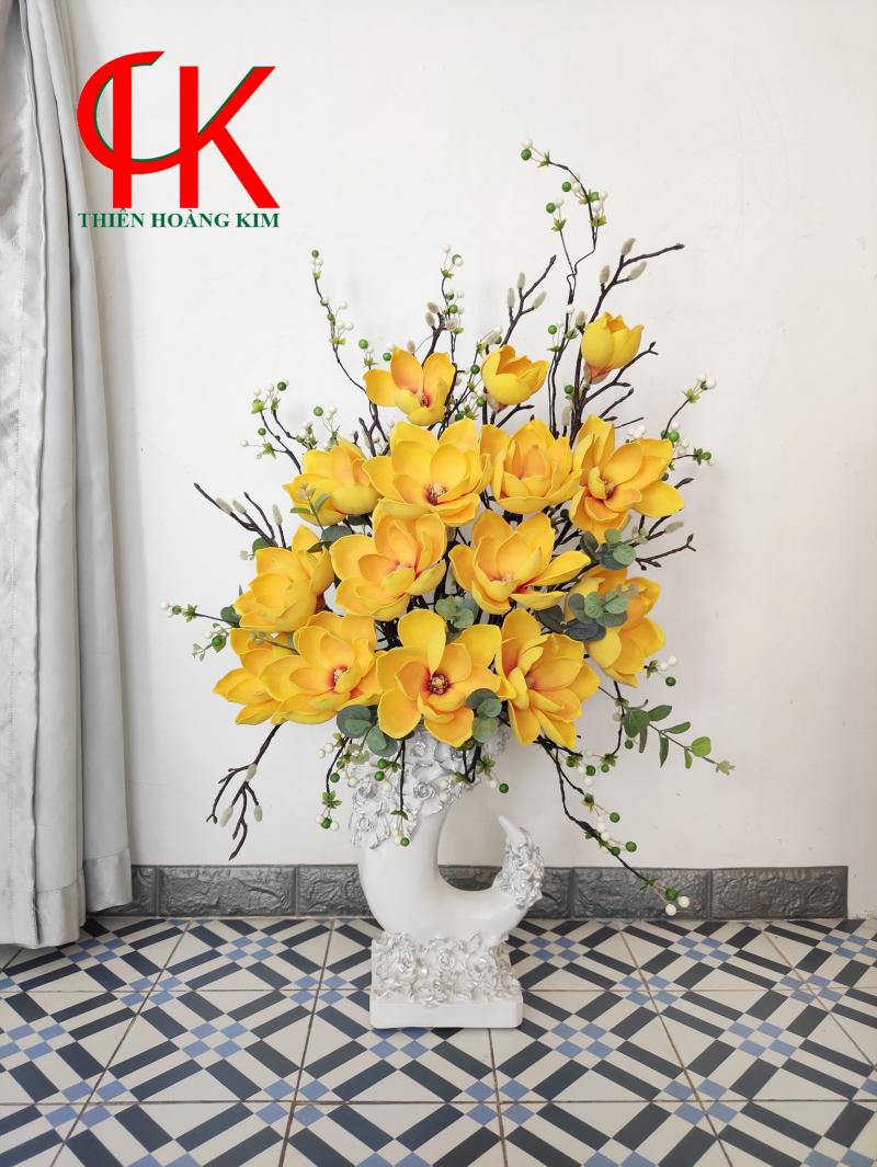 Hoa Vải Lụa THK - Tổng Kho Hoa Giả, Cây Cảnh Giả