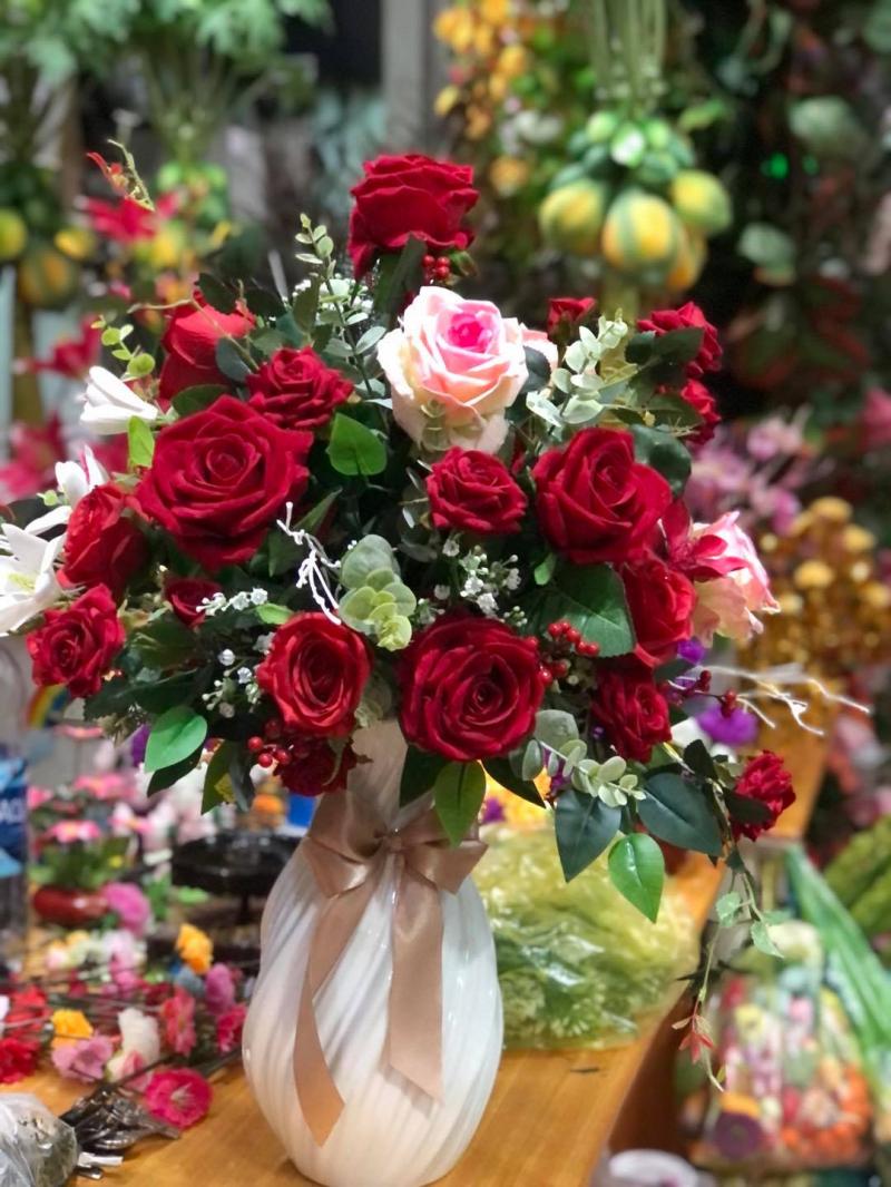 Hoa vải Minh Chi