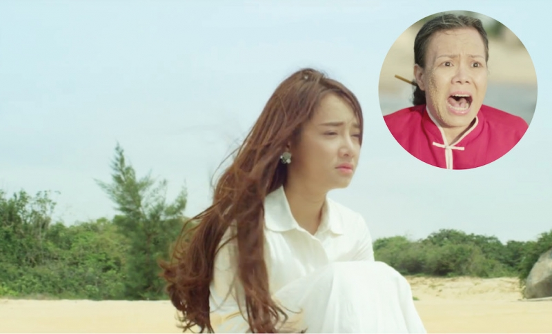 Nhã Phương hoán đổi thân xác với Việt Hương trong phim