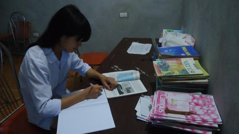 Hoàn thành bài tập trước khi đến lớp