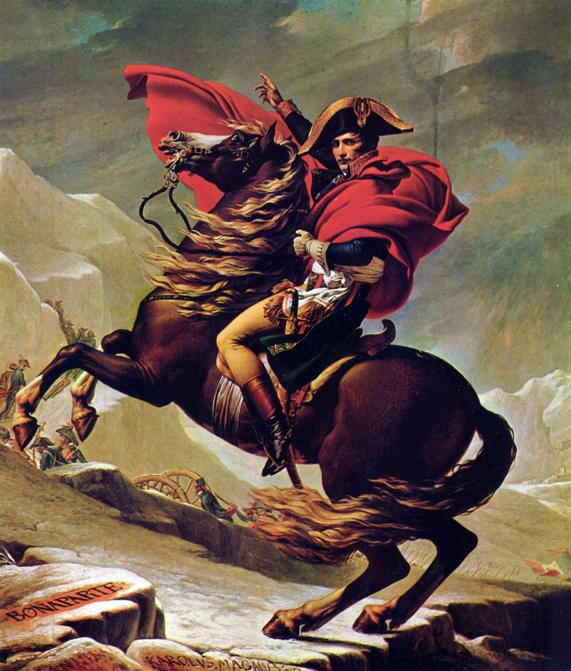 Bức họa Hoàng đế Napoleon