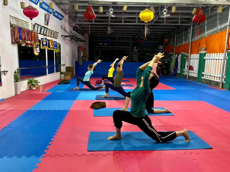 Hoàng Dũng Fitness & Kick Boxing Center