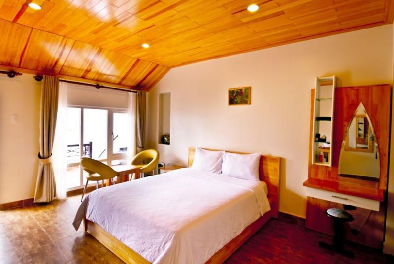Phòng tại Hoàng Lộc Villa