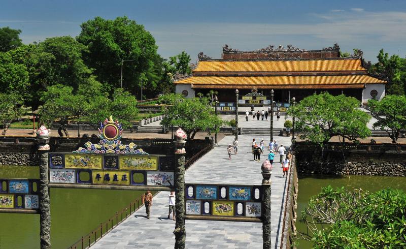 Điện Thái Hòa - Hoàng thành Huế