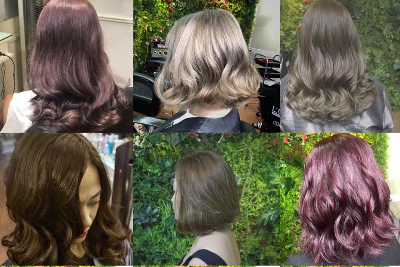Đặc biệt là dịch vụ nhuộm tóc tại đây được rất nhiều khách hàng đánh giá cao và trở thành một trong những lựa chọn hàng đầu, bởi tóc lên màu chuẩn, trang thiết bị hiện đại, cá loại hóa chất an toàn, nguồn gốc rõ ràng