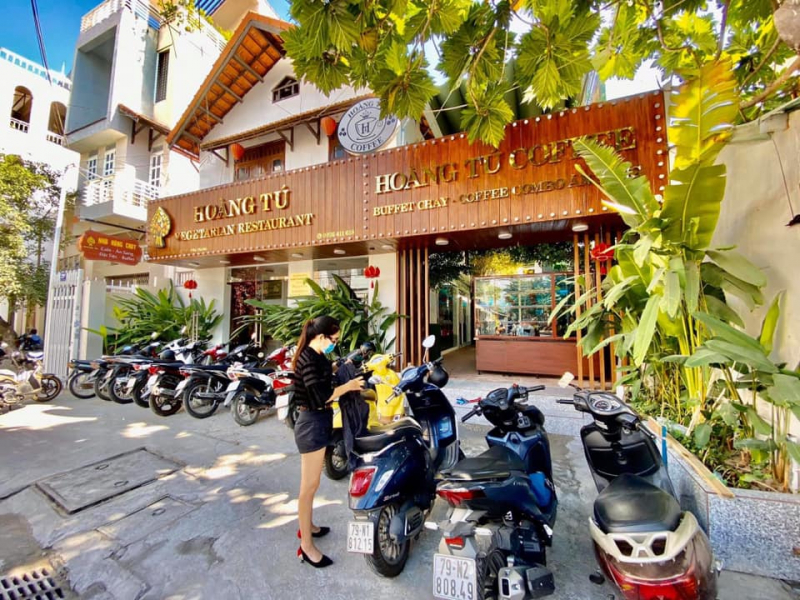 Hoàng Tú Vegetarian restaurant - coffee