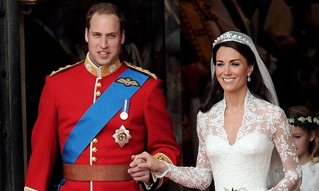 Hoàng tử William và Kate Middleton