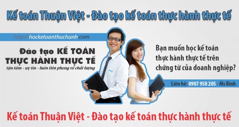 Banner của trung tâm Thuận Việt