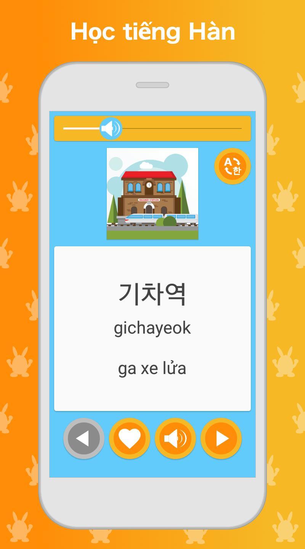 Ứng dụng học tiếng Hàn: Nói, Đọc
