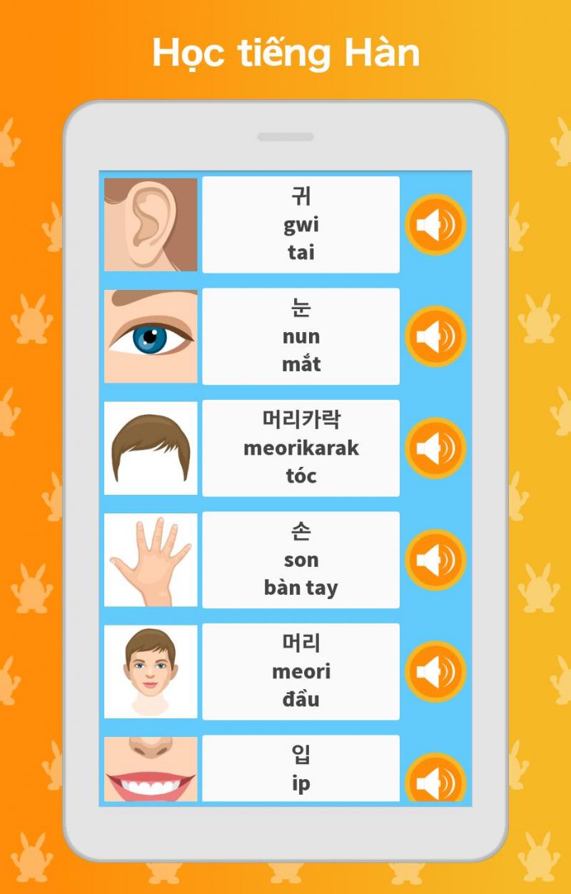 Nhiều hình ảnh thú vị cùng Ứng dụng học tiếng Hàn: Nói, Đọc