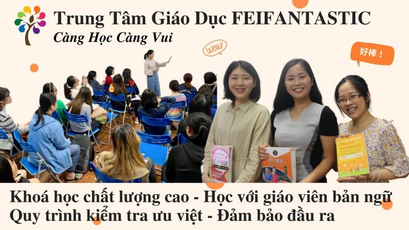 Học Tiếng Trung cùng Feifantastic