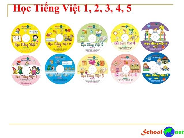 Học Tiếng Việt 1,2,3,4,5