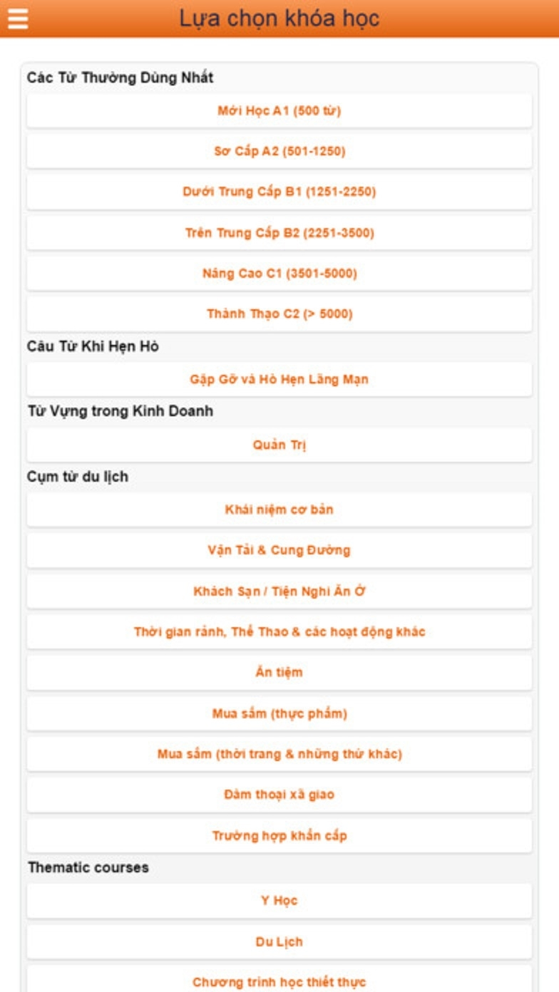 Học Từ và Từ vựng tiếng Trung