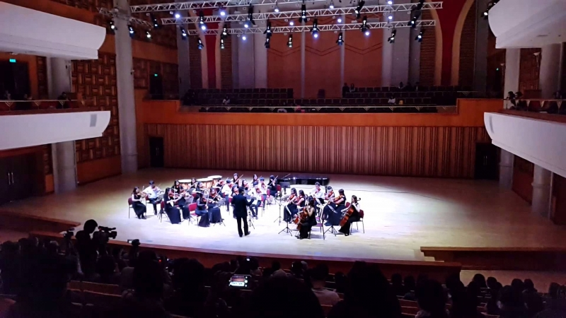 Phòng hòa nhạc Học viện âm nhạc Quốc gia Việt Nam