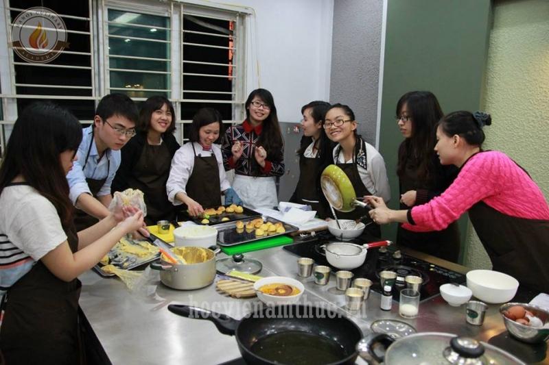 Khóa học nấu ăn chay của Học viện ẩm thực Hà Nội
