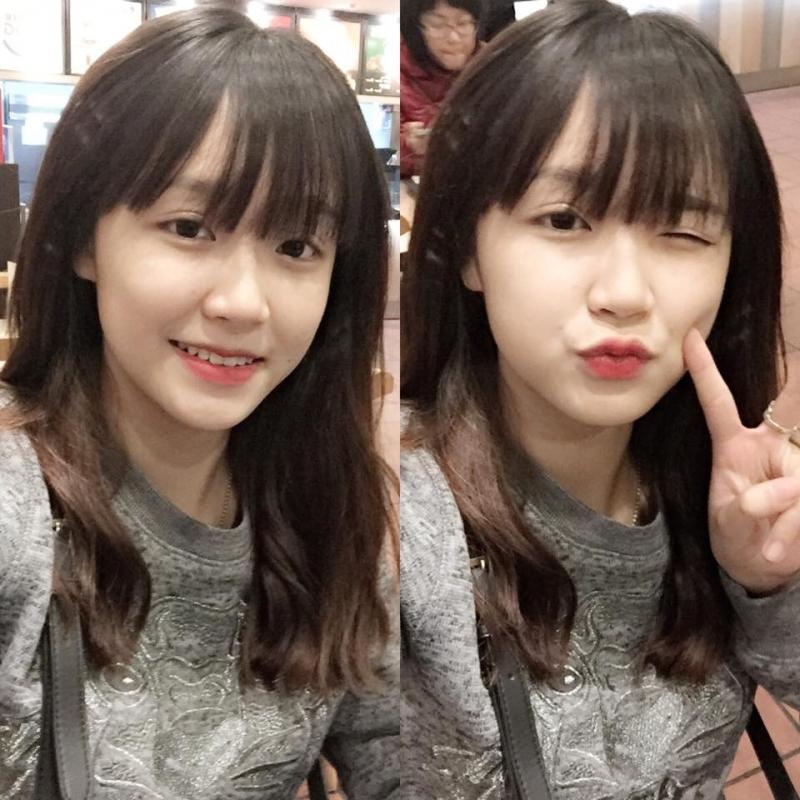 Hot girl mặt mộc Hoàng Thị Minh Tâm