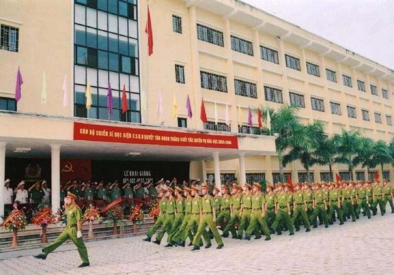 Lễ khai giảng của trường Học Viện Cảnh Sát Nhân Dân