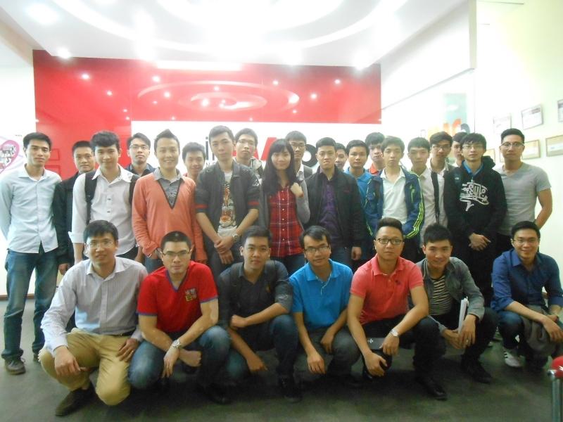 Một buổi hội thảo của sinh viên