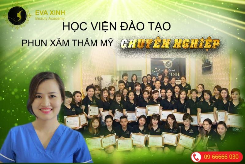 Học viện đào tạo,dạy nghề phun xăm thẩm mỹ quốc tế chuyên nghiệp Eva Xinh (Eva xinh beauty academy)