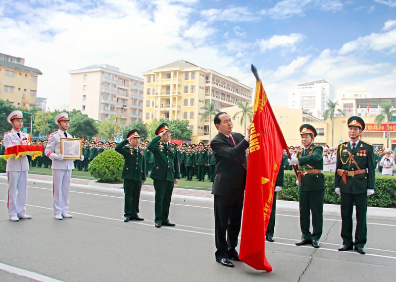 Học viện Kỹ thuật Quân sự đón nhận Huân chương Độc lập hạng Nhì