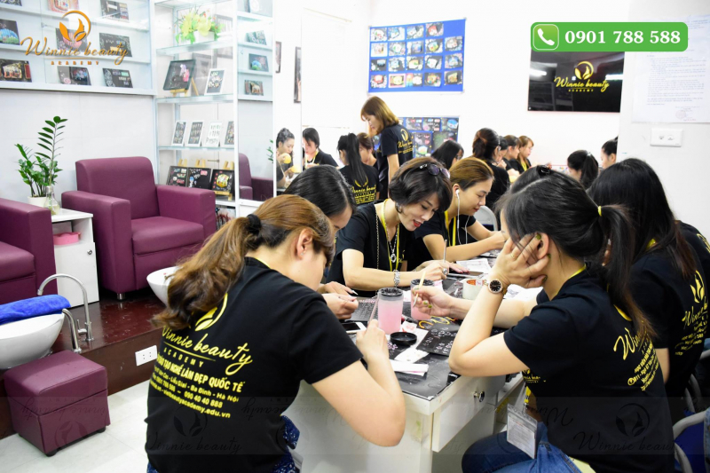 Học viện làm đẹp quốc tế Winnie Academy