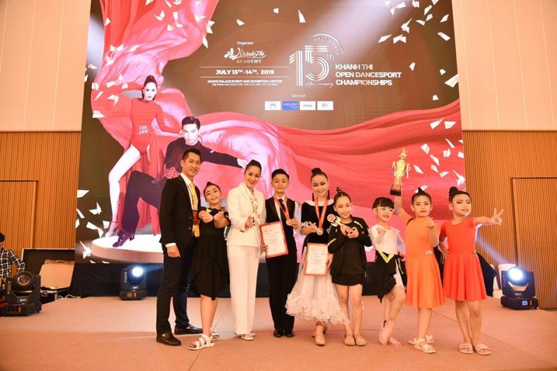 Khánh Thi Academy là nơi đào tạo các bộ môn năng khiếu nghệ thuật chuyên nghiệp