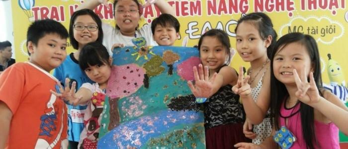 Học viên sẽ được tham gia nhiều hoạt động thú vị khi học tại Taca Emca