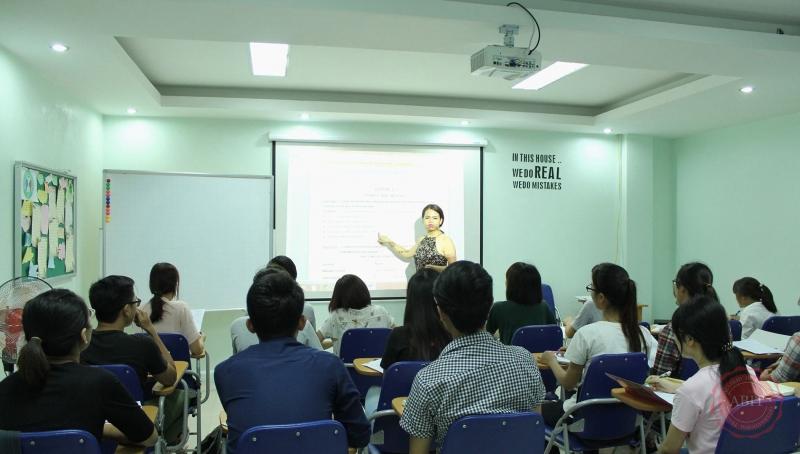 Lớp học tại ABIT