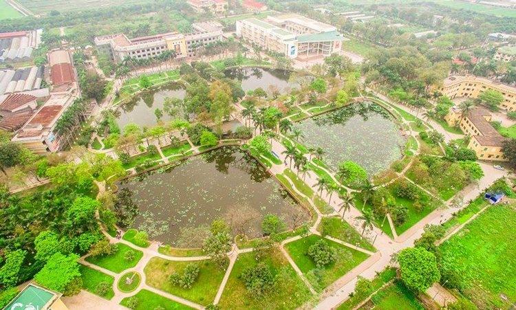 Khuân viên Học viện Nông Nghiệp Việt Nam