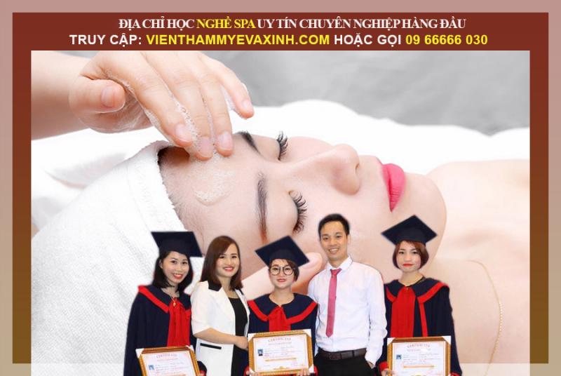 Học viện thẩm mỹ quốc tế Eva xinh dạy nghề nối mi KOREA tại Hà Nội