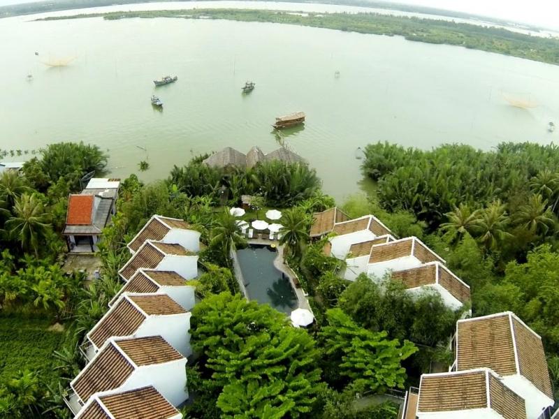 Khu resort như được hòa mình vào thiên nhiên