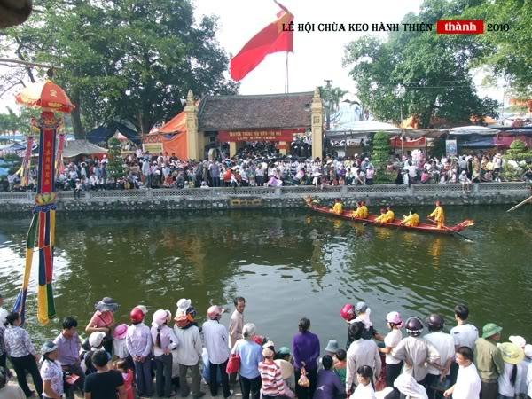 Lễ hội chùa Keo Hành Thiện