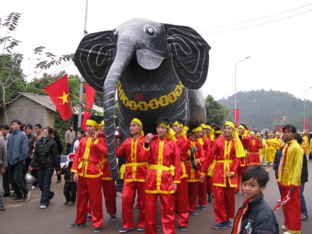 Hội Gióng tại đền Phù Đổng và đền Sóc, Hà Nội