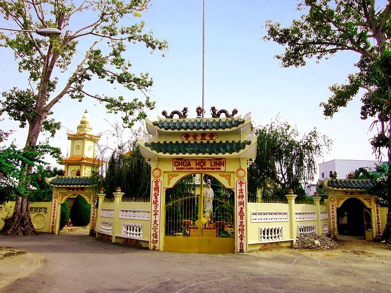 cổng chùa Hội Linh