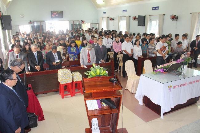 Lễ bổ nhiệm Quản nhiệm chi hội Tin lành Vũng Tàu