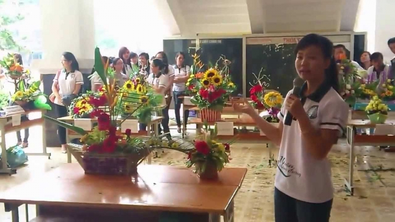 Hội thi cắm hoa nghệ thuật